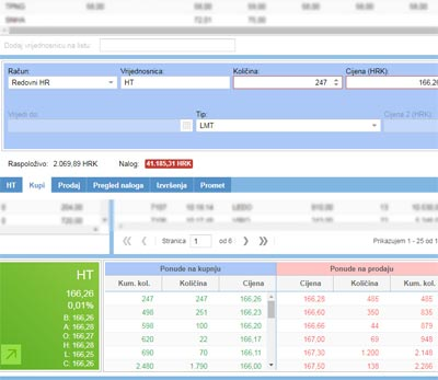 What is the eTrade securities trading system | FIMA